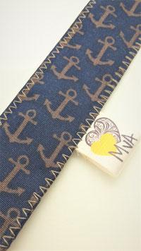 Buchzeichen Anker Blau ⚓