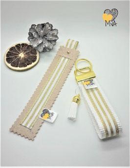 ♥ Geschenkset: Buchzeichen + Schlüsselanhänger Moscow Day