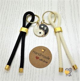 ☯ Geschenkset: 2 Schlüsselanhänger Best Friends ☯ Yin Yang