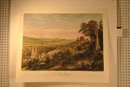 Marburg - Stahlstich
