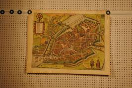 Hamburg Plan - Braun & Hogenberg 1580 Kol