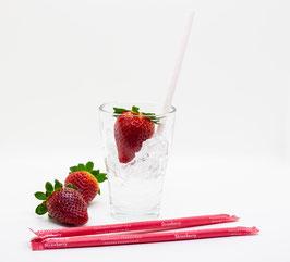 SORBOS essbare Trinkhalme - Erdbeere