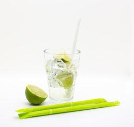 SORBOS essbare Trinkhalme - Limette