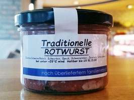 Traditionelle Rotwurst
