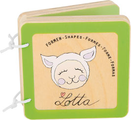 """Livre pour Bébé """" Lotta """"pour découvrir les formes"""