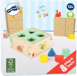 Cube Bois à formes