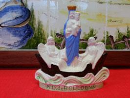 Notre Dame de Boulogne Faience de Desvres