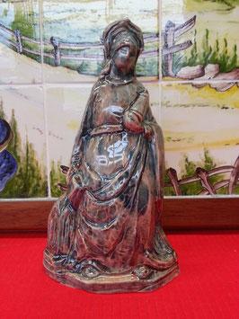 Vierge et la Bilble Faience de Desvres eglise christianisme religion