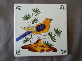 Carreaux Style Ancien oiseau Faience de Desvres numéro 1