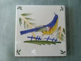 Carreaux Style Ancien oiseau Faience de Desvres numéro 2