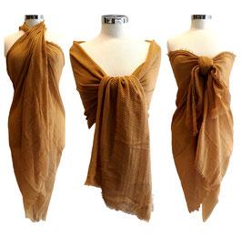 Maxi Sciarpa Pareo 180 cm x 100 cm Multiuso in Cotone e Viscosa