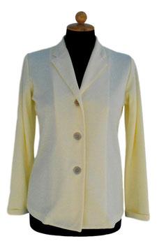 -40% Giacca Gran Sasso Donna Cotone Jersey Gialla