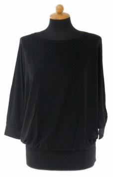 -30% Gran Sasso Donna Kimono Manica 3/4 Nero