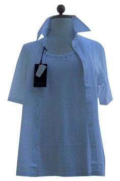 -40% Gran Sasso Donna Twin Set Bianco Filo di Scozia