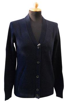 -30% Cardigan Gran Sasso Donna  Cashmere e Lana Blu