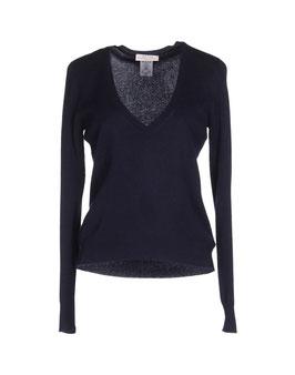 -30% Pullover Blu Gran Sasso Donna in Cashmere e Lana Blu