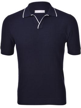 -30% Gran Sasso Polo Uomo Cotton Fresh in maglia