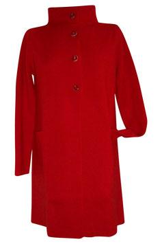-30% Maxi Cardigan Gran Sasso Rosso solo tg.42
