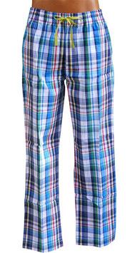-10% Perofil Pantaloni Cotone Stampa Quadro