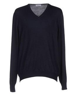 Gran Sasso Pullover Blu Notte Lana Merinos Extra Fine