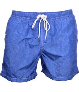 -25% Gran Sasso Costume  Uomo Da Bagno  Boxer Blue con taschino-poschette.
