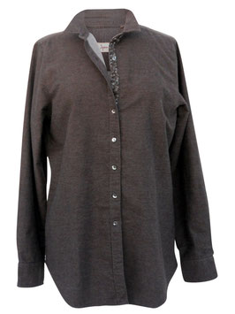 Camicia Ingram Donna Flanella Marrone