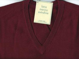 Maglione Gran Sasso Bordo Scollo a V Lana Merinos