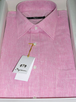 -30% CAMICIA INGRAM LINO+COTONE M/M C7T collo 40