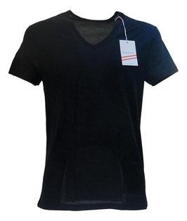 Perofil Filo Di scozia Active T-Shirt a V Blu