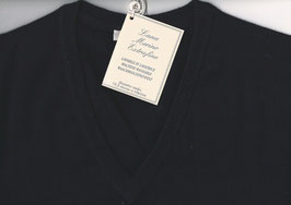 -20% Gran Sasso Pullover Grandi Taglie Blu Notte Lana Merinos Extra Fine