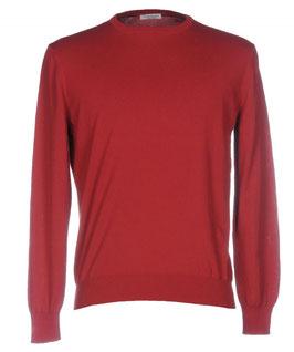 -50% Gran Sasso Maglione Uomo Cotone Rosso