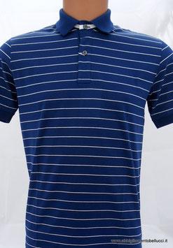 -40% Polo Uomo  Gran Sasso Blu Chiaro