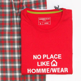 -40% Perofil  T-Shirt  Manica Lunga rosso/bianco