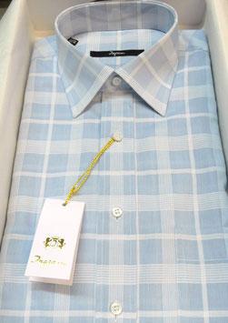 -50% Camicia Uomo Ingram mezza manica quadro