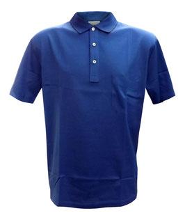 -20% Gran Sasso Polo Blu Chiaro con taschino in Filo di Scozia