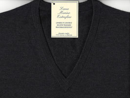 Gran Sasso Pullover Antracite Lana Merinos