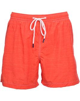 -25% Gran Sasso Costume  Uomo Da Bagno Boxer Arancio con taschino-poschette.