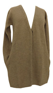 -30% Gran Sasso Maxi Cardigan Coste Inglese c/tasche interne