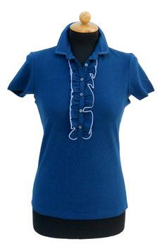 -40% Gran Sasso Polo Donna Piquet c/rousche Blu Chiaro