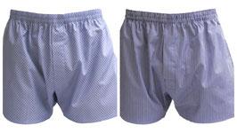 -10% Perofil Boxer Gange Bi-Pack Jeans/Rosso