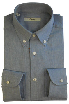 Ingram Camicia Uomo Flanella Avion Grigio Regular Fit