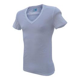 -20% Perofil Lift T-Shirt V Profondo Bianco