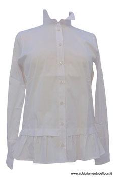 -25% Gran Sasso Camicia Donna  Bianca c/rouches