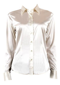 -30% Camicia Ingram Donna Raso Bianco