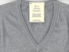 Gran Sasso Pullover Grigio Chiaro Lana Merinos
