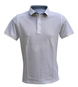 -40%  Polo Uomo  Gran Sasso Bianco con profili