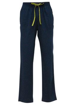 -10% Perofil Pantaloni Modal Blu c/tasche