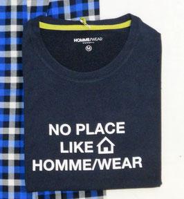 -40% Perofil  T-Shirt  Manica Lunga blu/bianco