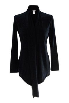 -40% Gran Sasso Donna Cardigan Estivo Blu Cotone e Modal