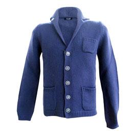 -50% Gran Sasso Uomo Giacca C/bottoni e Tasche Blu